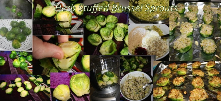 Stuffed Brussel Sprouts