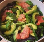 Grapefruit Avocado Salad