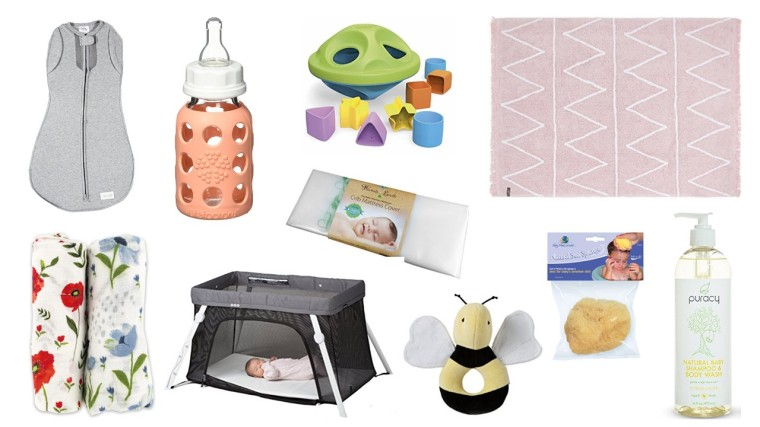 Safe Natural Baby Items